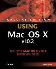Special Edition Using Mac OS X V10.2