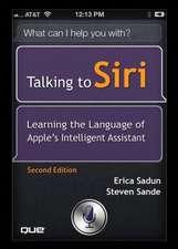 Sadun, E: Talking to Siri