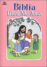Biblia Dios Me Ama Rosa:  God Loves Me Bible Pink