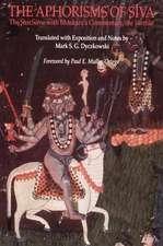 The Aphorisms of Siva