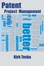 Patent Project Management