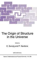 The Origin of Structure in the Universe
