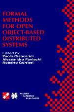 Formal Methods for Open Object-Based Distributed Systems: IFIP TC6 / WG6.1 Third International Conference on Formal Methods for Open Object-Based Distributed Systems (FMOODS), February 15–18, 1999, Florence, Italy