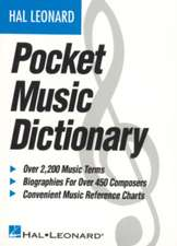 The Hal Leonard Pocket Music Dictionary:  Guitar Solo