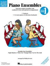 Piano Ensembles Level 1:  Hal Leonard Student Piano Library National Federation of Music Clubs 2014-2016 Selection