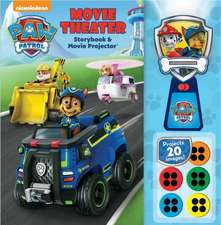 Nickelodeon Paw Patrol: Movie Theater Storybook & Movie Projector, Volume 1