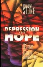 Depression and Hope:  Women and Development Issues in Pastoral Care