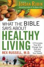 What the Bible Says about Healthy Living