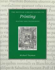 Printing:  History and Techniques