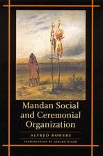 Mandan Social and Ceremonial Organization