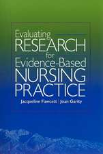 Evaluating Research for Evidence-Based Nursing Practice [With CDROM]