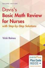 Davis's Basic Math Review for Nursing and Health Professions