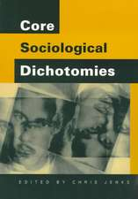 Core Sociological Dichotomies