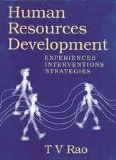 Human Resources Development: Experiences, Interventions, Strategies