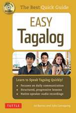 Easy Tagalog : Learn to Speak Tagalog Quickly (CD-ROM Included)