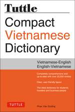Tuttle Compact Vietnamese Dictionary: Vietnamese-English English-Vietnamese