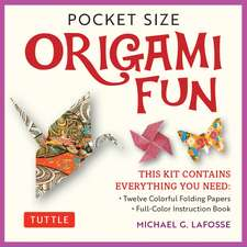 Pocket Size Origami Fun Kit: Contains Everything You Need to Make 7 Exciting Paper Models