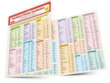 Mandarin Chinese Vocabulary Language Study Card