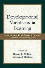 Developmental Variations Learning