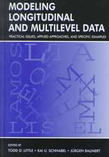 Modeling Longitudinal and Multilevel Data:  Practical Issues, Applied Approaches, and Specific Examples