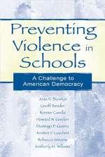 Preventing Violence in Schools PR