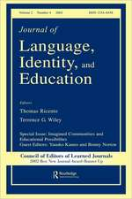 Journal of Language, Identity, and Education, Volume 5:  Queer Inquiry in Language Education, Number 1