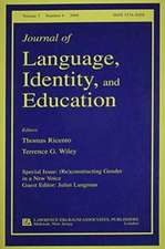 (Re)Constructing Gender in a New Voice:  A Special Issue of the Journal of Language, Identity, and Education