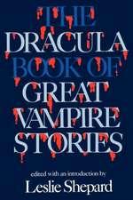 Dracula Book of Great Vampires
