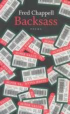 Backsass:  Poems