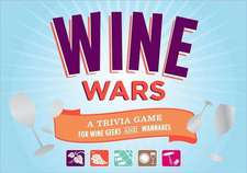 Wine Wars! Board Game:  A Trivia Game for Wine Geeks and Wannabes