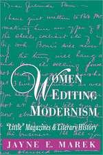 Women Editing Modernism