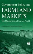 Government Policy and Farmland Markets: The Maintenance of Farmer Wealth