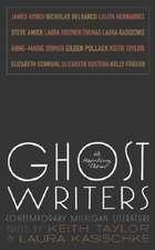 Ghost Writers:  Contemporary Michigan Literature