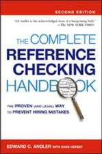 The Complete Reference Checking Handbook
