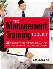 The Management Training Tool Kit