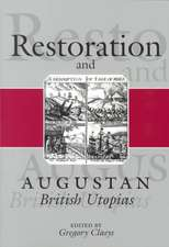 Restoration and Augustan British Utopias