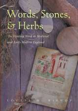 Words, Stones, & Herbs:  The Healing Word in Medieval and Early Modern England