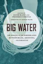 Big Water: The Making of the Borderlands Between Brazil, Argentina, and Paraguay