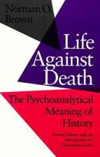Life Against Death:  The Place of Social Science in American Culture.