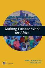 Making Finance Work for Africa [With CDROM]
