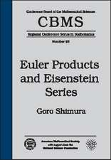 Euler Products and Eisenstein Series
