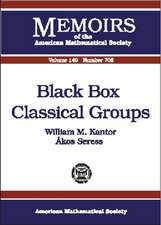 Kantor, W:  Black Box Classical Groups