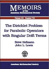 The Dirichlet Problem for Parabolic Operators with Singular Drift Terms