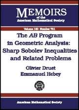 The AB Program in Geometric Analysis