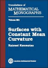 Surfaces with Constant Mean Curvature