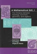 A Mathematical Gift I II, III: The interplay between topology, functions, geometry, and algebra
