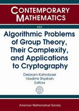 Algorithmic Problems of Group Theory, Their Complexity, and