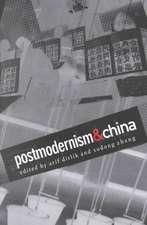 Postmodernism and China-PB