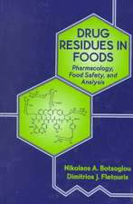 Drug Residues in Foods:  Food Safety, and Analysis