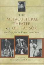 Oh:  Metacultural Theater Cloth